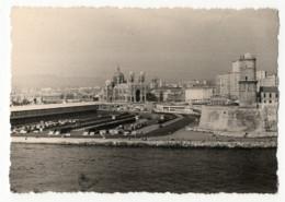 Photo Marseille 1962, Cathédrale Otre Dame Vue Du Pharo - Plaatsen