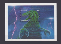 Saint St Vincent 1994 Yv. Bloc 264 ** Prehistoire Dinosaurs Prehistoric Tyrannosaurus Rex - Preistorici