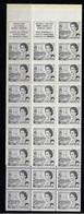 CANADA 1967-1973 SCOTT 460b BABN  WT - Unused Stamps