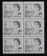 CANADA 1967-1973 SCOTT 460 BNA  STRAIGHT EDGE - Unused Stamps