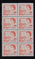CANADA 1967-1973 SCOTT 459b BABNC 12.5x12. MNH - Unused Stamps