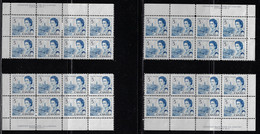 CANADA 1967-1973 SCOTT 458 Plate 6 4 CB+  MNH CBNC - Unused Stamps