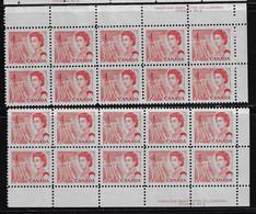 CANADA 1967-1973 SCOTT 457 Plate 3  2 PB  RIGHT MNH CBNC OTTAWA - Unused Stamps