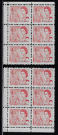 CANADA 1967-1973 SCOTT 457 2 CB  UL LL MNH CBNC OTTAWA - Unused Stamps