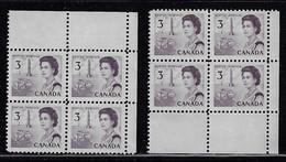 CANADA 1967-1973 SCOTT 456 2 CB MNH - Unused Stamps