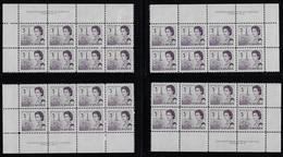 CANADA 1967-1973 SCOTT 456 4 PB  PLATE 2 CBNC - Unused Stamps
