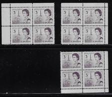 CANADA 1967-1973 SCOTT 456 3 CB  CBNC - Unused Stamps