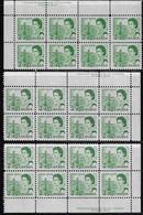 CANADA 1967-1973 SCOTT 455 3PB PVA CBNC - Unused Stamps