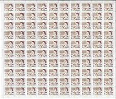 CANADA 1967-1973 SCOTTT 454p WINNIPEG PRINT SHEET - Unused Stamps