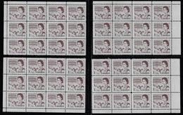 CANADA 1967-1973 SCOTTT 454 4 CB - Unused Stamps