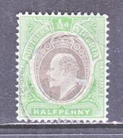 SOUTHERN  NIGERIA   21   (o)  Wmk. 3  MULTI  CA - Nigeria (...-1960)