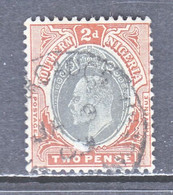 SOUTHERN  NIGERIA   23   (o)  Wmk. 3  MULTI  CA - Nigeria (...-1960)
