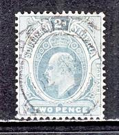 SOUTHERN  NIGERIA   34   (o)  Wmk. 3  MULTI  CA - Nigeria (...-1960)