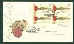 Immigration. PEDRO Da SILVA + Portugal; Timbres Scott # 1988 Stamps; Pli Premier Jour / First Day Cover (6802) - Unused Stamps