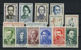 1958, Frankreich, 1193-00 U.a., ** - Unclassified