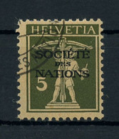 1927, Schweiz Völkerbund SDN, 29 X, Cto - Dienstpost