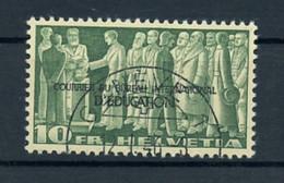 1944, Schweiz Internationale Erziehungsamt BIE, 21, Cto - Dienstpost