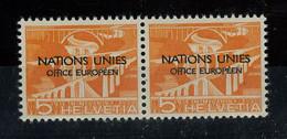 1950, Schweiz Europäisches Amt Der Vereinten Nationen ONU, 1 ... - Dienstpost