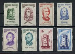 1956, Frankreich, 1110-15 U.a., ** - Unclassified