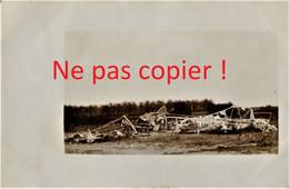 CARTE PHOTO ALLEMANDE - AVION DETRUIT A LOCALISER - GUERRE 1914 1918 - Oorlog 1914-18