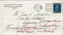 CTN74 - CUBA LETTRE LA HABANA MAI 1936 - Covers & Documents