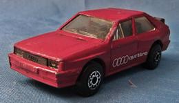Modellauto  -  Audi Quattro  Rot  -  1982  -  Größe 1:58 - Altri