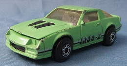Modellauto  -  Camaro Iroc-Z 28  Hellgrün  -  1985  -  Größe 1:63 - Altri