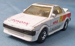 Modellauto  -  Toyota MR 2  Weiß  -  1985  -  Größe 1:56 - Altri