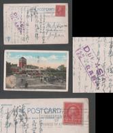 1929 GOLDEN GATE PARK Picture Postcard Due 4 Sen Los Angeles To Japan - Covers & Documents