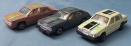 3 Modellautos Mit Karstadt Und Coca Cola Werbung  -  Ca. 7 Cm Lang - Altri