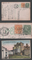 1930 COURT HOUSE HOTEL Picture Postcard Canada VANCUVER To Japan - Covers & Documents