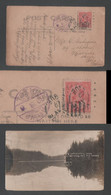 1909 Mont Tremblant Picture Postcard Canada To Japan - Covers & Documents