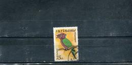 Surinam 1977 Yt 65 Timbres Pour La Poste Aérienne Oiseaux Du Surinam - Surinam
