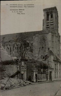 GUERRE 1914...SOISSONS...LA CATHEDRALE  ..CPA - Oorlog 1914-18