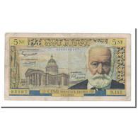 France, 5 Nouveaux Francs, 1964, 1964-05-06, TTB, Fayette:56.15, KM:141a - 5 NF 1959-1965 ''Victor Hugo''