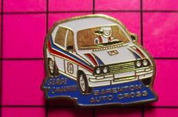 412c Pin's Pins / Beau Et Rare / THEME :  AUTOMOBILES / RALLYE BARENTON AUTO-CROSS SERGE CHAUVIN - Rallye