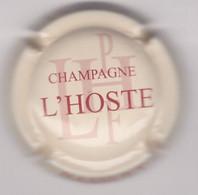 Capsule Champagne L'HOSTE { N°15 : Crème Et Bordeaux } {S42-21} - Non Classificati