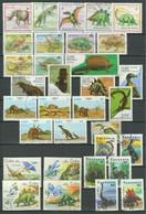 Animals / Dinosaurus Lot ☀ CTO/Used - Preistorici