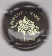 Capsule Champagne BURLOT_NAHE { N°11a : Marron Foncé Et Crème } {S42-21} - Non Classificati