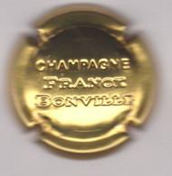 Capsule Champagne BONVILLE Franck { N°24 : Estampée Or } {S42-21} - Non Classificati