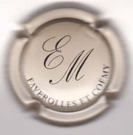Capsule Champagne MARCHAND Eric { N°41 : Grège Et Noir } {S42-21} - Non Classificati
