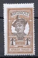 Martinique 1908-18 Y&Tn°61 - Michel N°56 Nsg - 1c Martiniquaise - Ungebraucht
