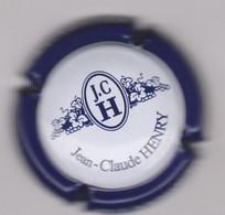 Capsule Champagne HENRY Jean-Claude { N°1 : Blanc Et Bleu } {S42-21} - Non Classificati