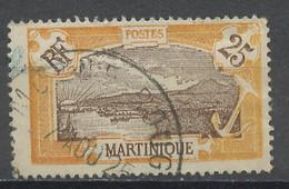 Martinique 1922-25 Y&Tn°96 - Michel N°85 (o) - 25c Fort De France - Gebraucht
