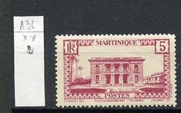 Martinique 1933-38 Y&Tn°136 - Michel N°129 *** - 5c Fort De France - Ungebraucht