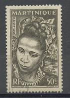 Martinique 1947 Y&Tn°228 - Michel N°241 Nsg - 50c Jeune Martiniquaise - Ungebraucht
