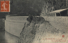 42 ROCHETAILLEE   CPA   Le Barrage - Rochetaillee