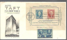 LETTER 1947  HOTEL TAFT NEW YORK - Covers & Documents
