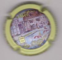 Capsule Champagne COURTY_LEROY { N°65 : Hôtel La Diège Logis, Contour Jaune } {S42-21} - Non Classificati