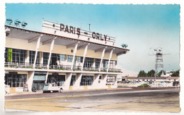 PARIS  ORLY    L'ENTREE DE L'AERODROME  CARTE  CIRCULEE - Aeródromos
